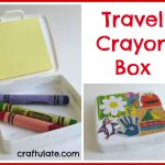 Travel Crayon Box