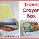 Travel Crayon Box