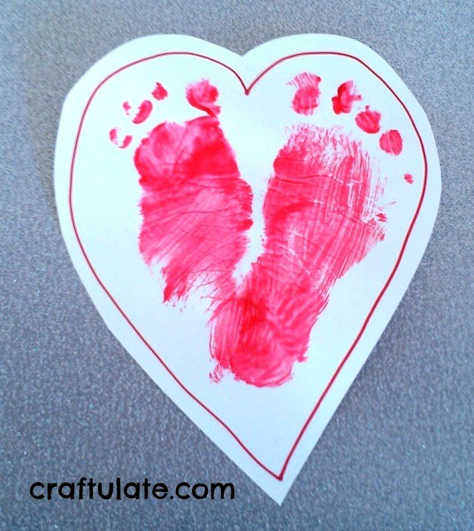 7 Easy Valentines Crafts for Toddlers from Craftulate