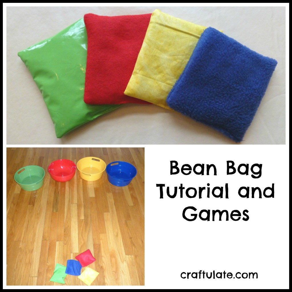 Craftulate: Bean Bag Tutorial and Games