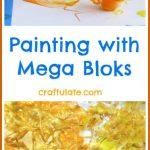 Painting with Mega Bloks