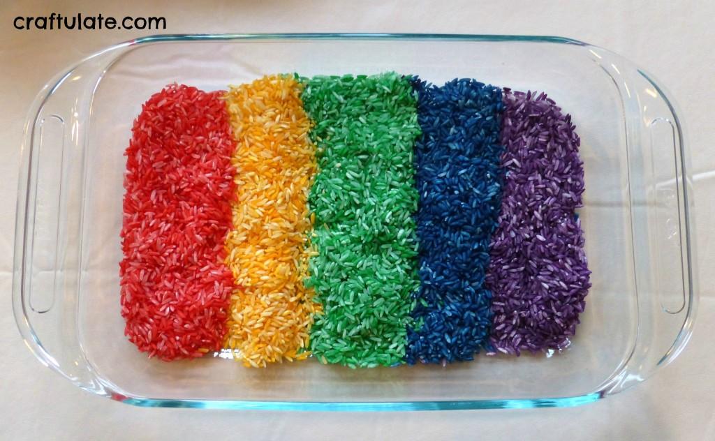 Tray Rainbow Rainbow Salt Tray From