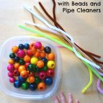 Fine Motor Fun with Beads and Pipe Cleaners