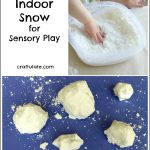 Indoor Snow for Sensory Play