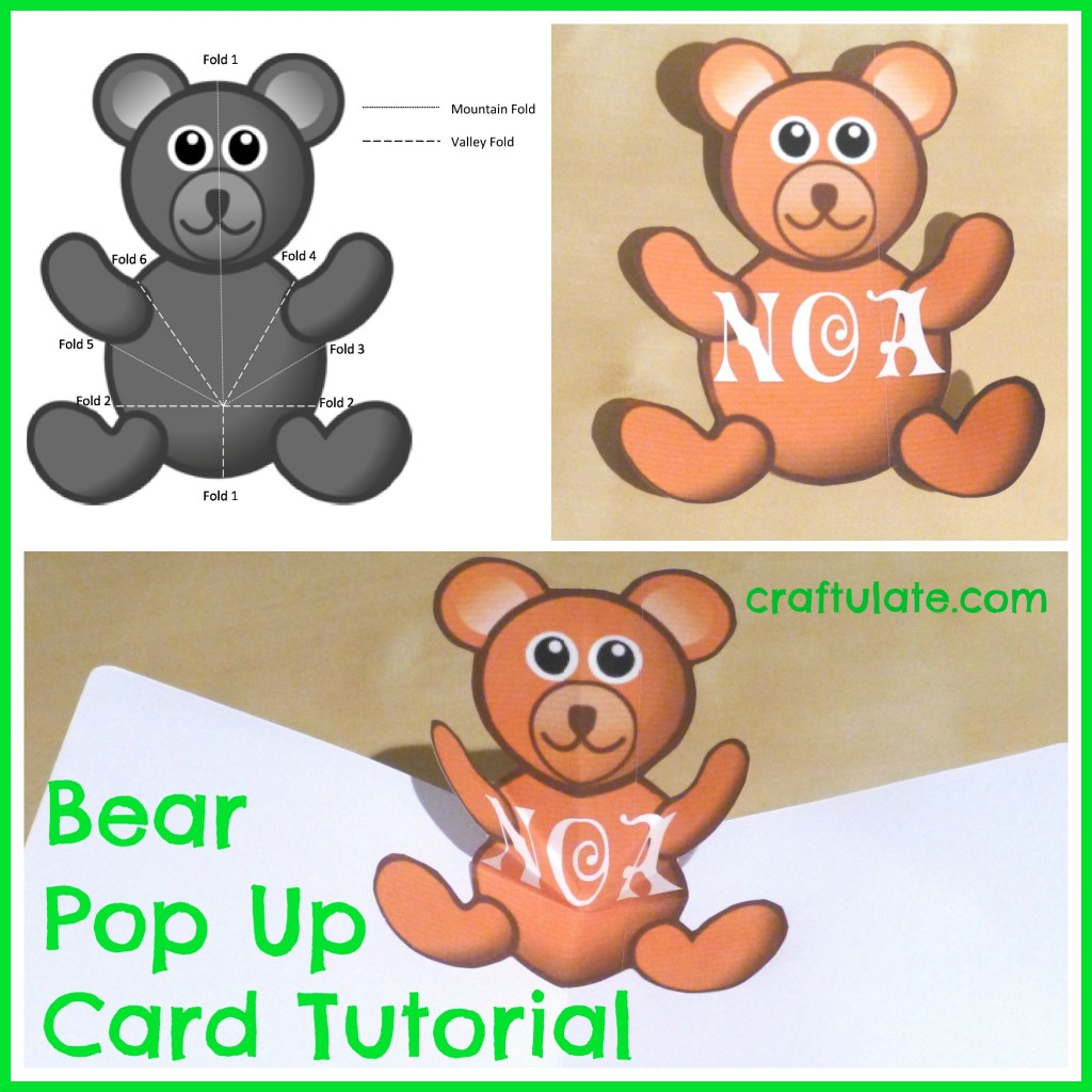 Bear Pop Up Card