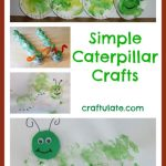Simple Caterpillar Crafts