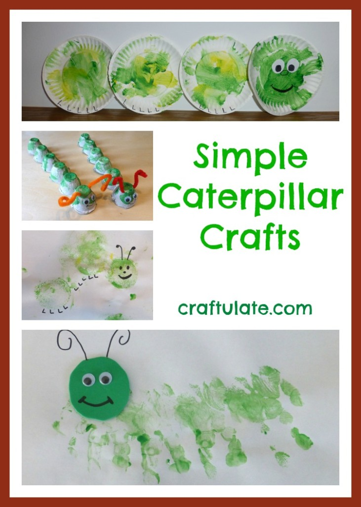 Simple Caterpillar Crafts for Toddlers