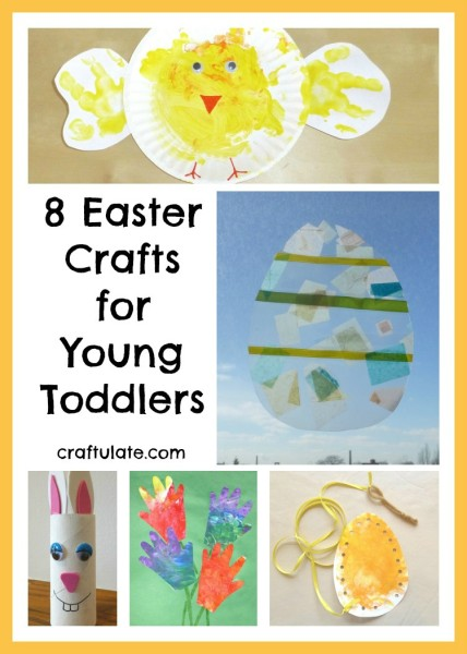8 Easter Crafts for Young Toddlers