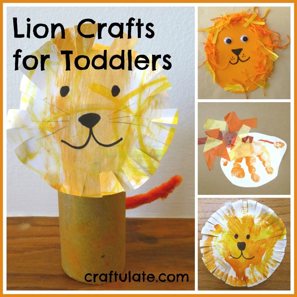 Lion Lamb Preschool Craft