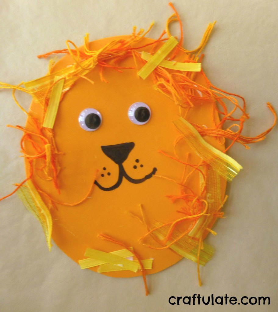 Lion Craft Two Year Olds