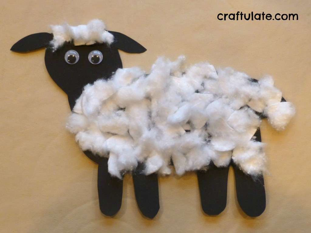 Lamb Crafts for Toddlers
