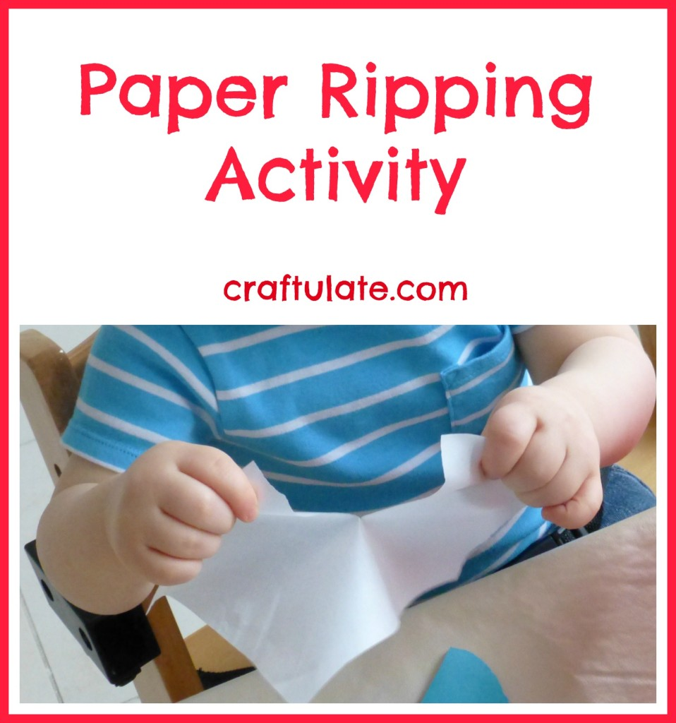 Paper Ripping Activity