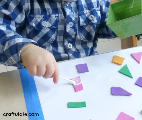 Introducing Glue to Toddlers