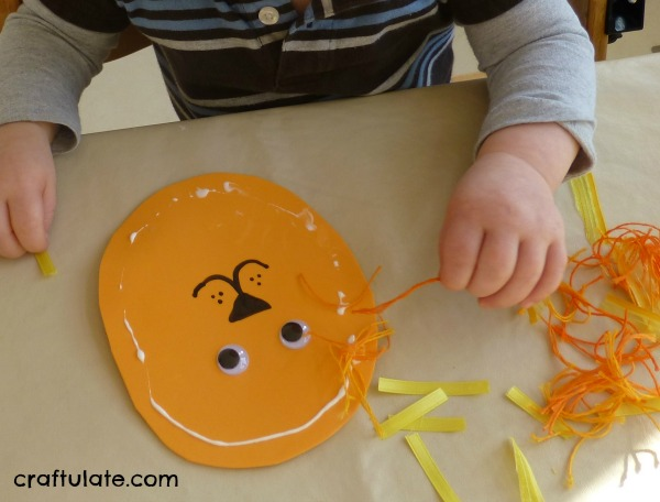 Lion Crafts for Toddlers : lion face paper plate craft - Pezcame.Com
