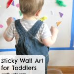 Sticky Wall Art for Toddlers