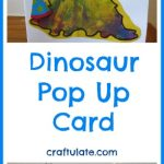 Dinosaur Pop Up Card