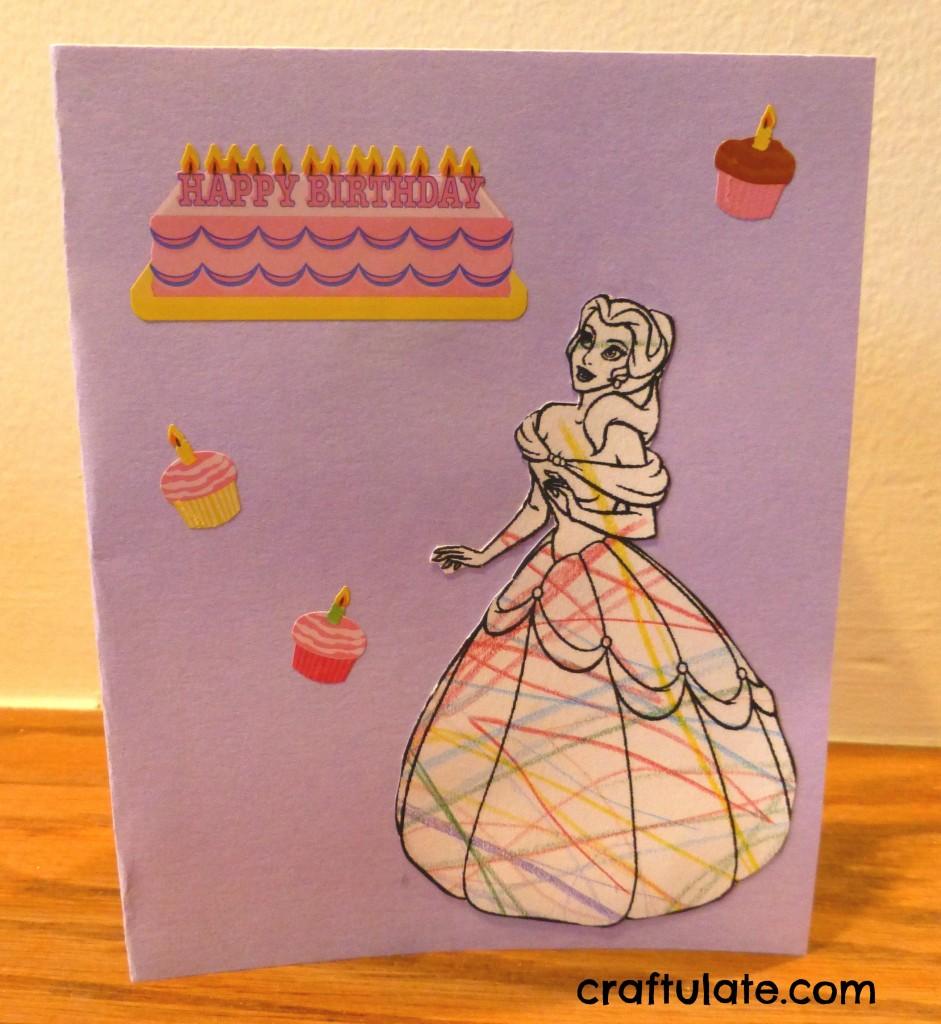 Princess Card with Pop-Up Tiara