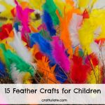 15 Feather Crafts for Children