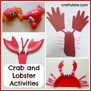 Crab and Lobster Activities