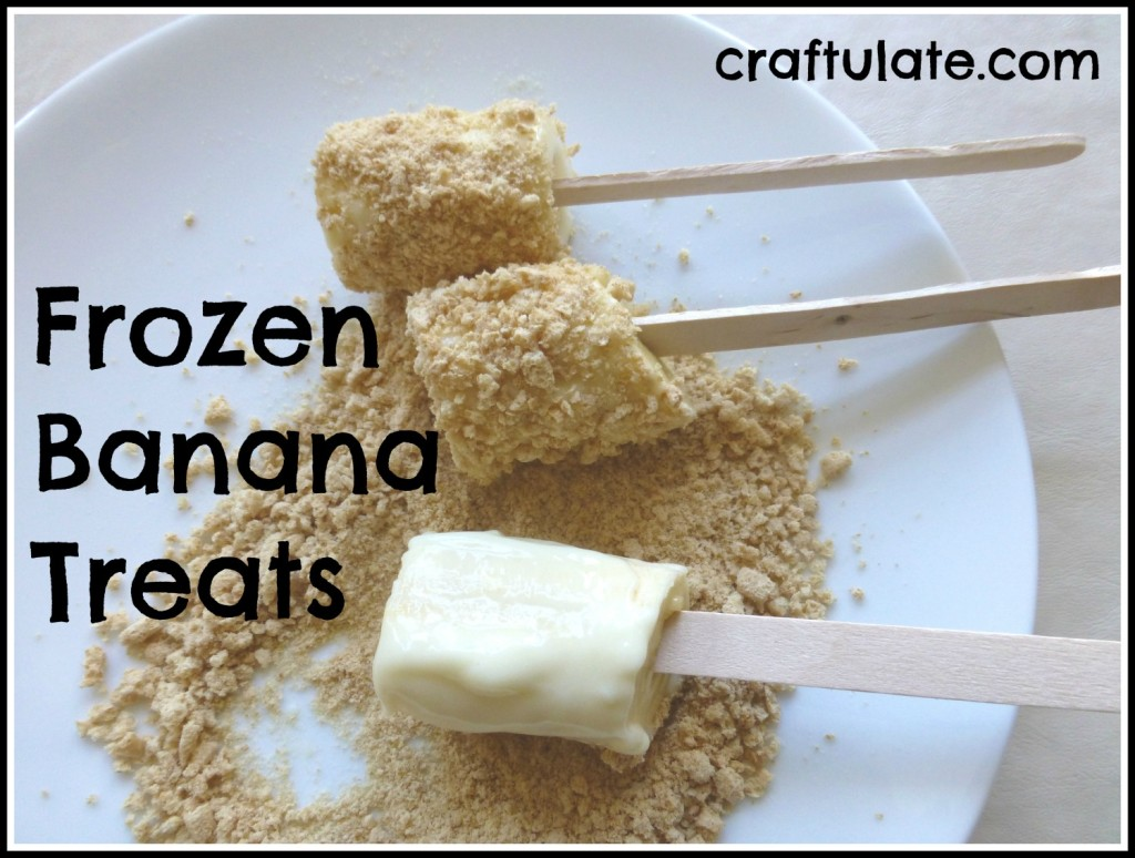 Frozen Banana Treats
