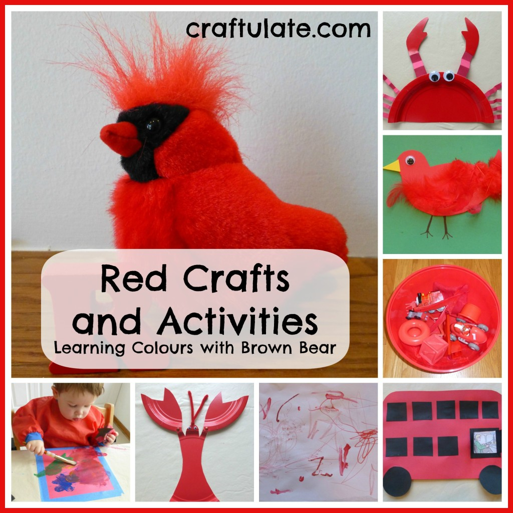 Red Crafts and Activities