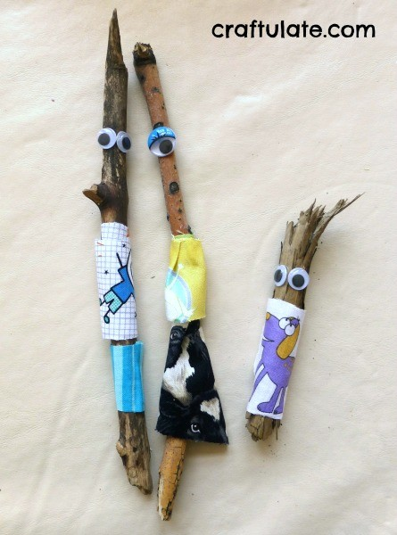 Stick Family - a nature craft for kids