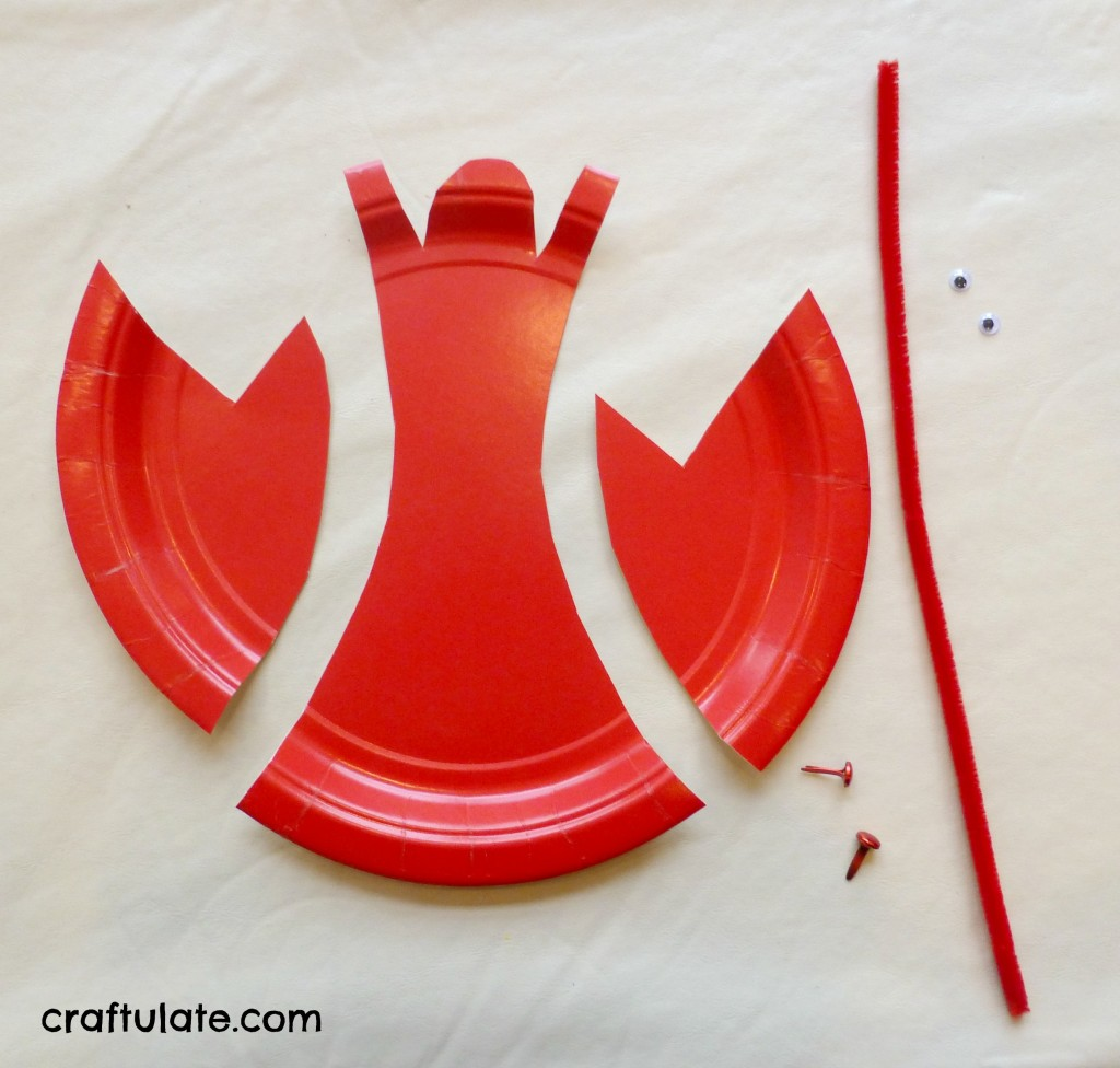 Crab and Lobster Activities : paper plate crab - pezcame.com