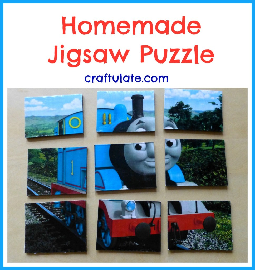 Homemade Jigsaw Puzzle