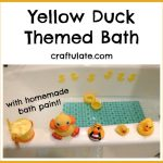 Yellow Duck Themed Bath