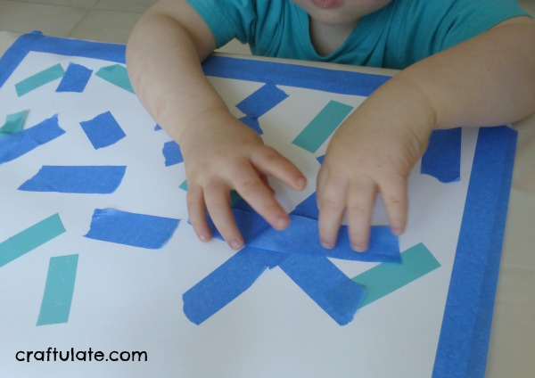 Blue Crafts and Activities (Learning Colors with Brown Bear)