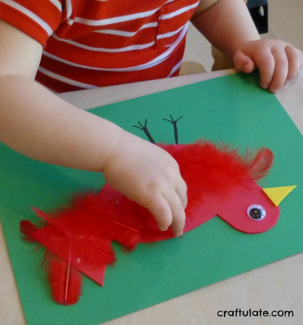Feathered Bird Craft