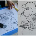 Black Crafts and Activities {Learning Colours with Brown Bear Series}