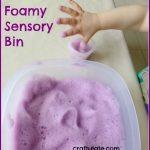 Foamy Sensory Bin