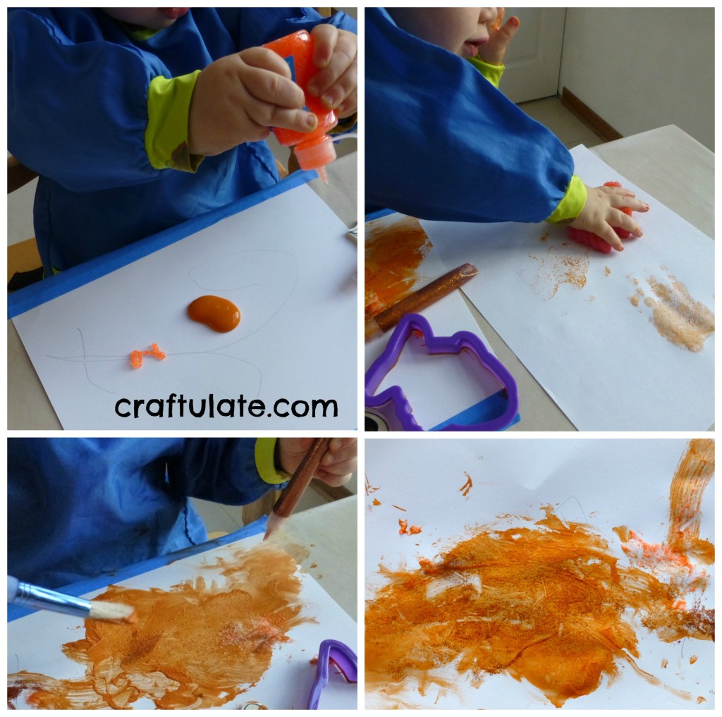 Orange Crafts and Activities