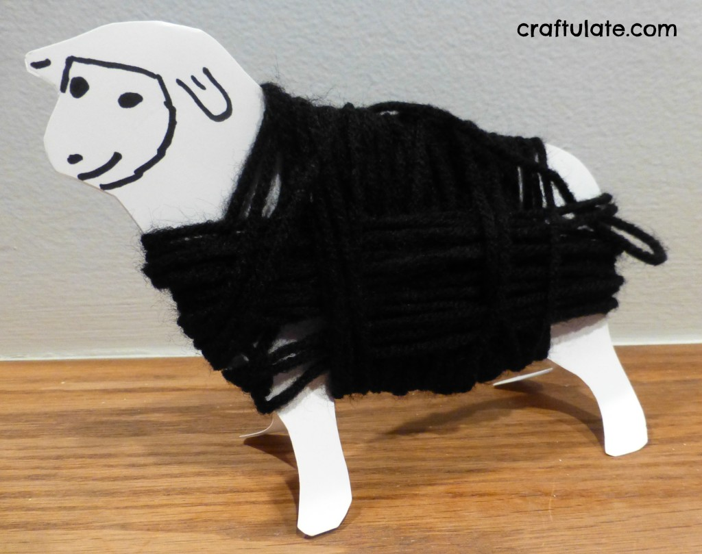 Yarn Wrap Sheep