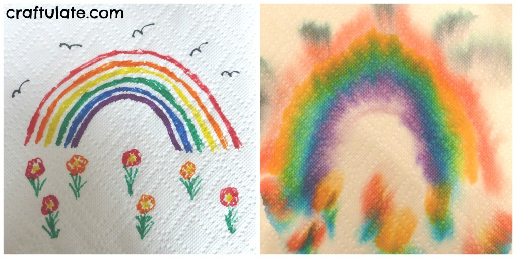 12 Paper Towel Art Projects