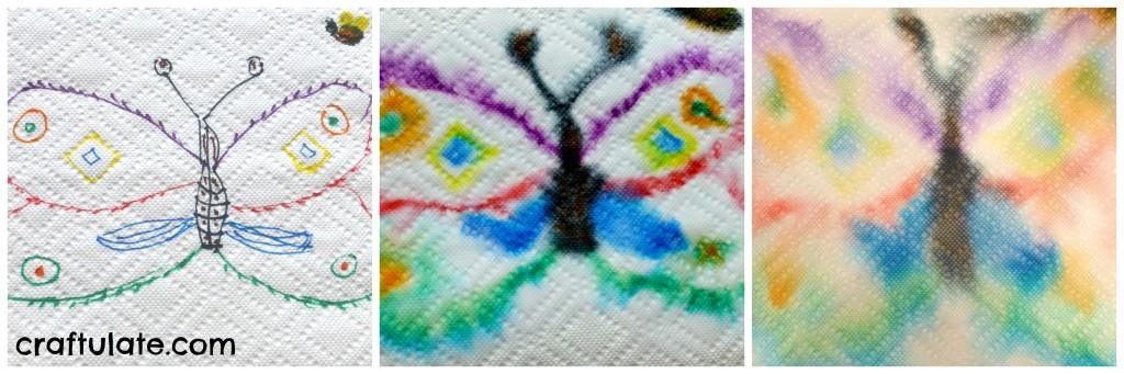 12 Paper Towel Art Projects