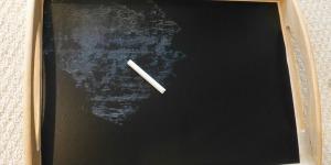 Chalkboard Tray Tutorial