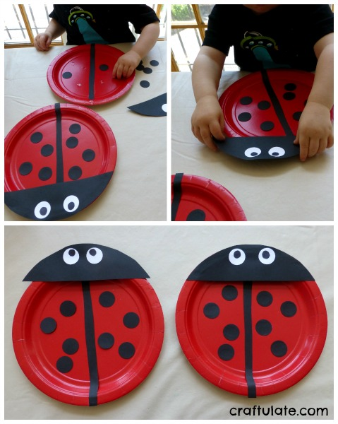 Paper Plate Ladybug & Paper Plate Bugs - Craftulate