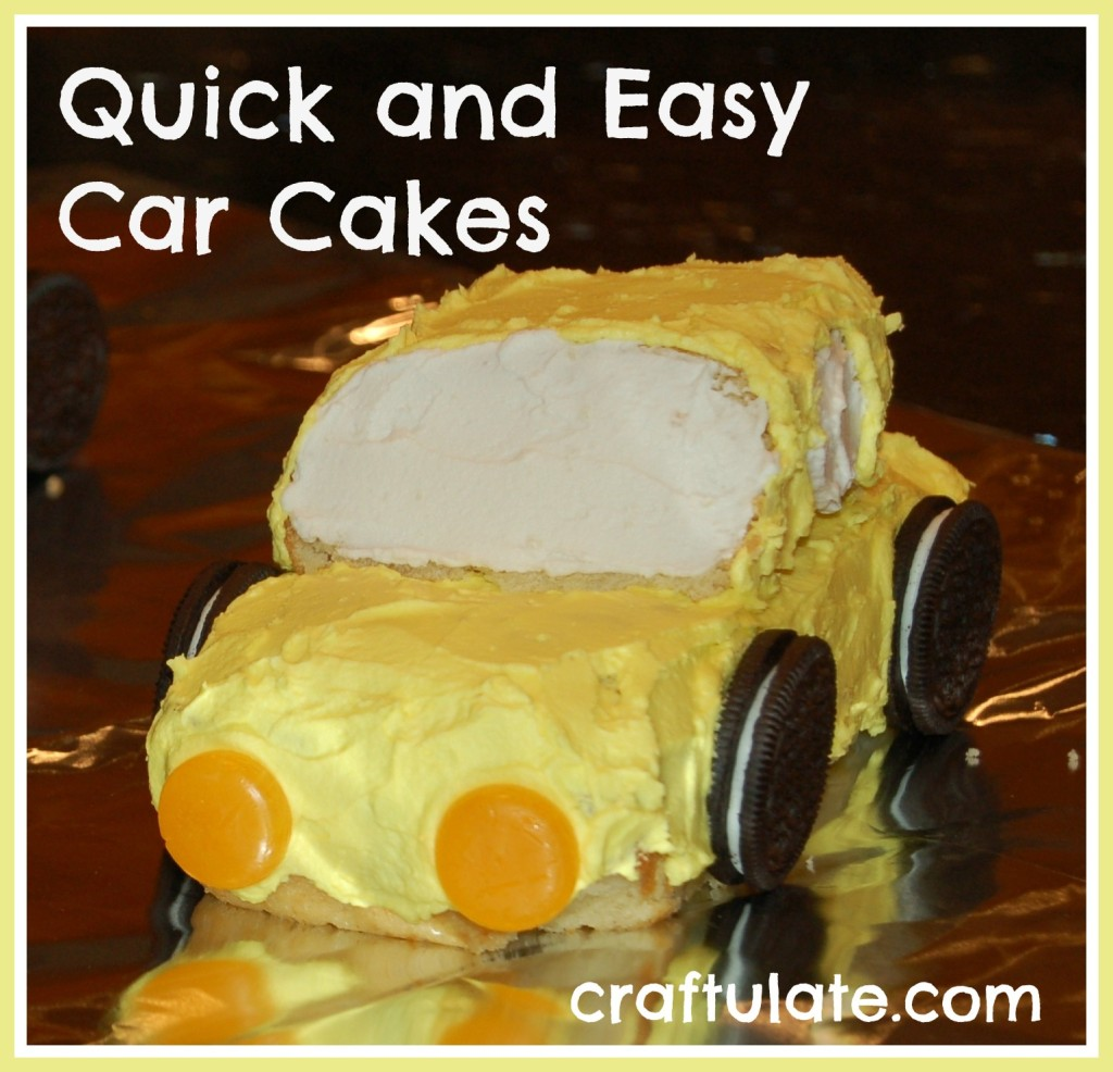 Incredible Quick And Easy Car Cakes Craftulate Personalised Birthday Cards Beptaeletsinfo