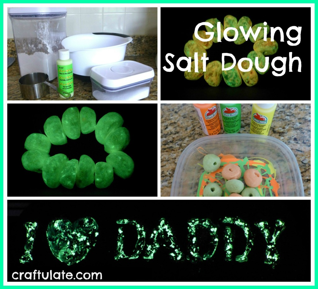Glowing Salt Dough