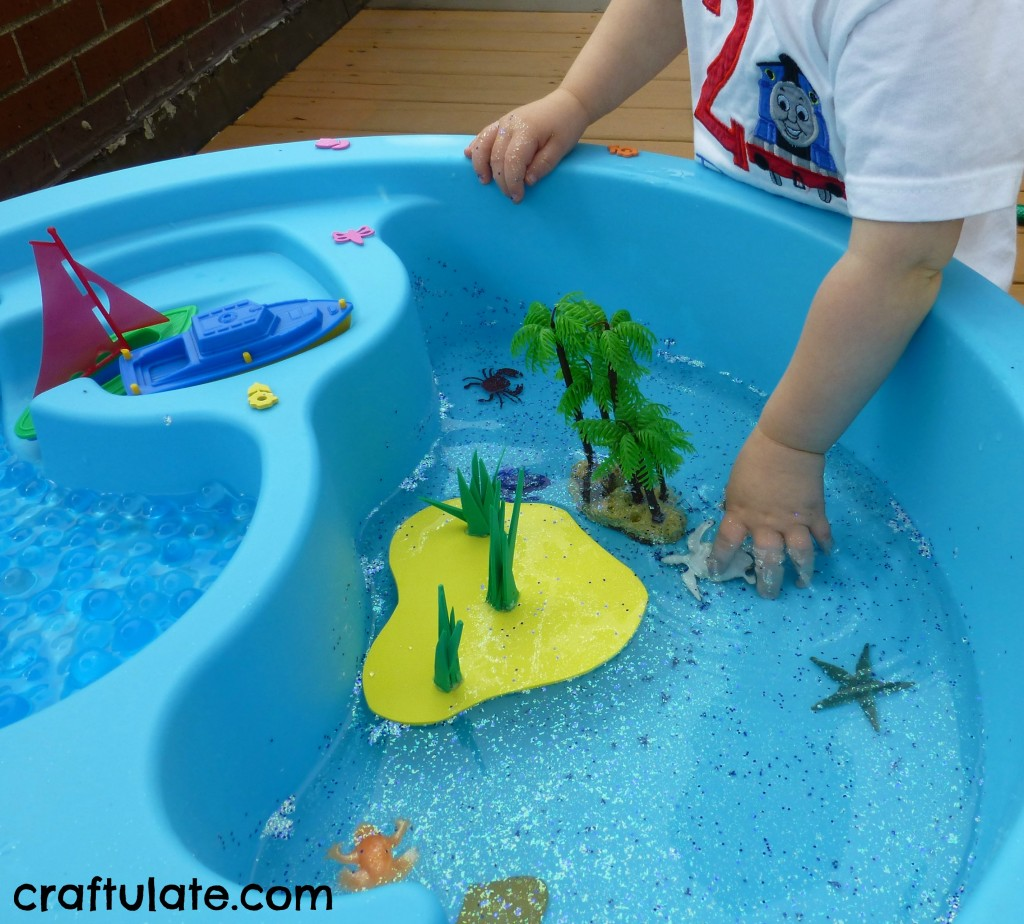 Tropical Island Water Table