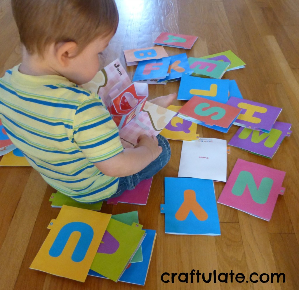 ABC Pop Up Books