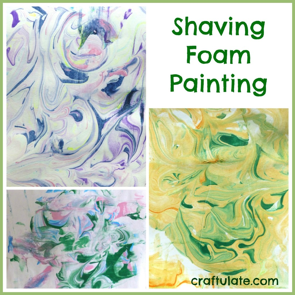 Shaving Foam Painting