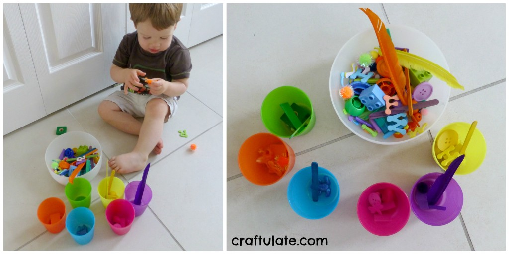 Colour Sorting Cups