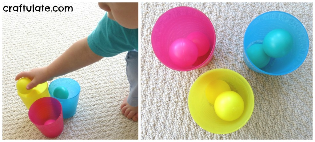 Simple Throwing Games with Ping Pong Balls