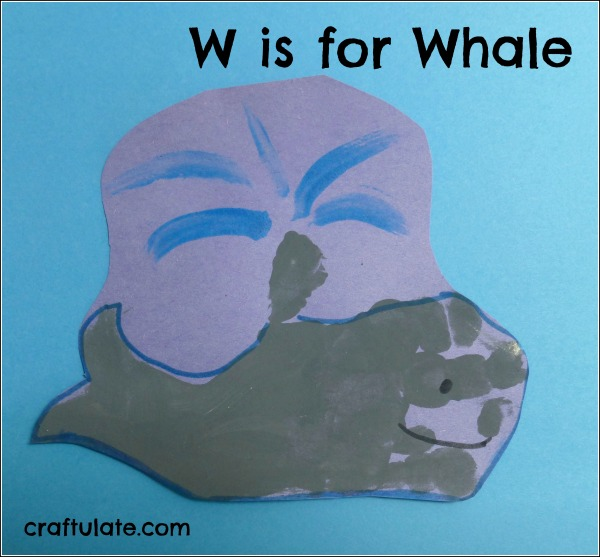W is for Whale
