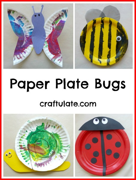 Paper Plate Bugs from Craftulate  sc 1 st  Craftulate & Paper Plate Bugs - Craftulate