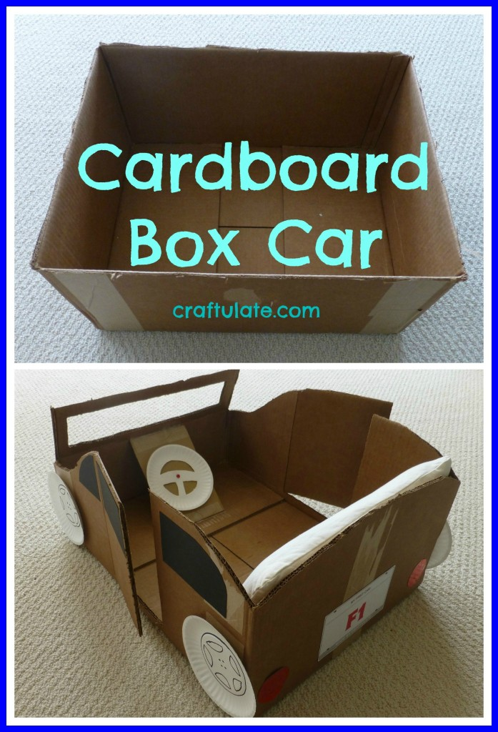 How to Make Cars Out of Cardboard Boxes Cardboard Box Car