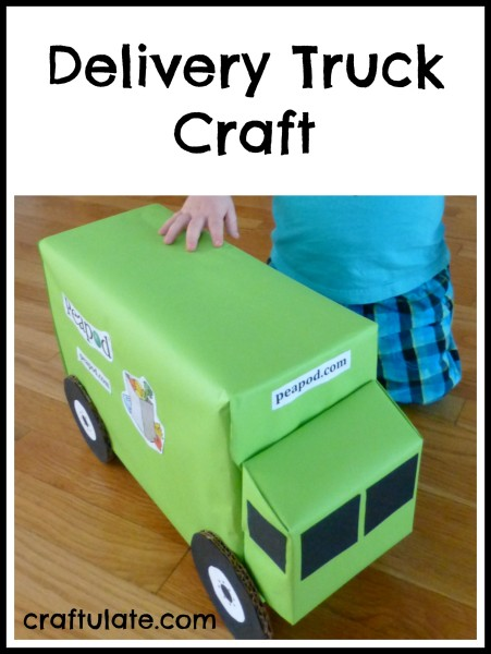 Delivery Truck Craft - Craftulate